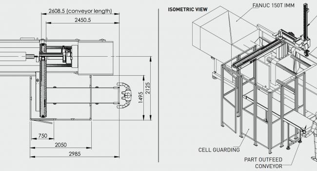Cartesian option | For FANUC α-S150iA 150T Cell