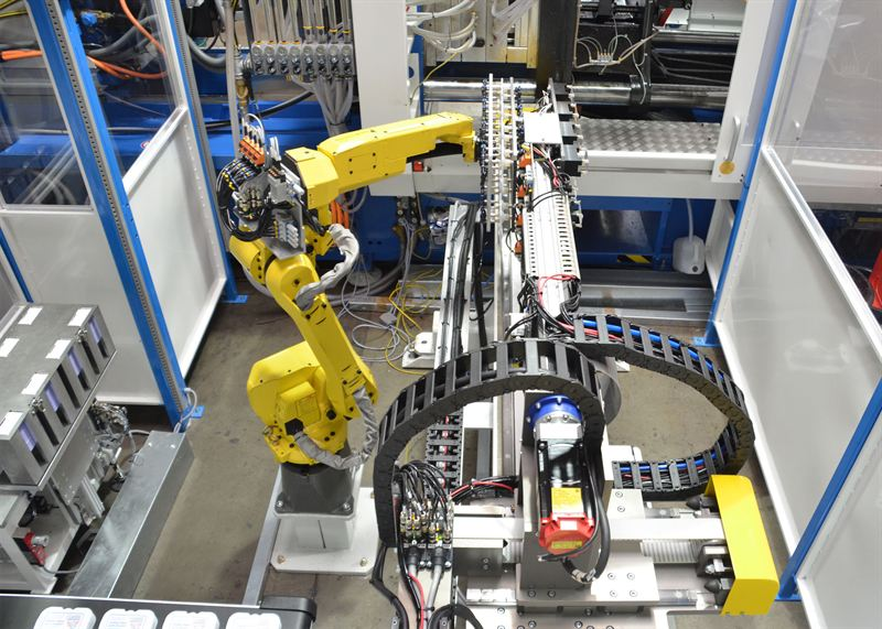 FANUC six axes robot